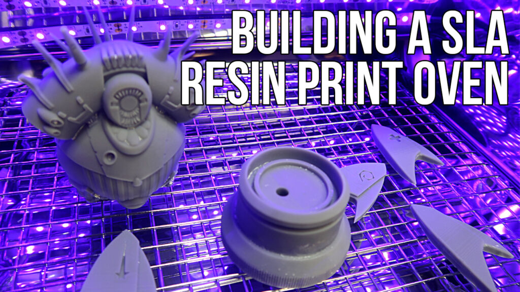 How to Build an SLA 3D Print Resin Curing Chamber