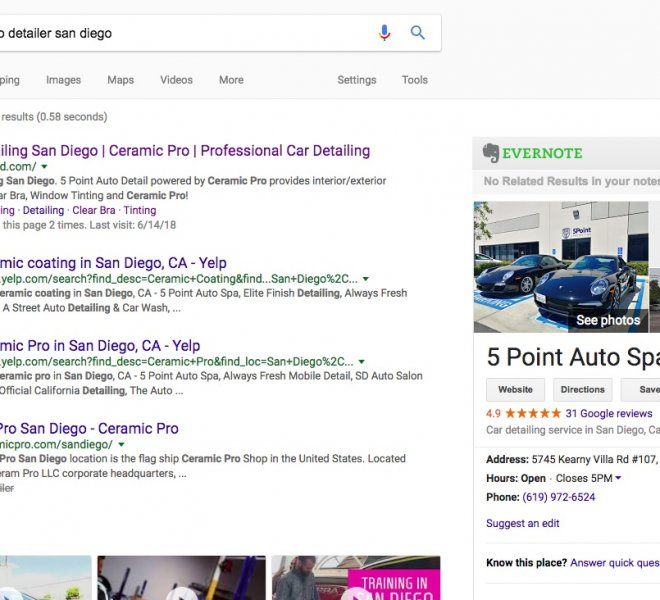 best seo san diego 5 point seo standing