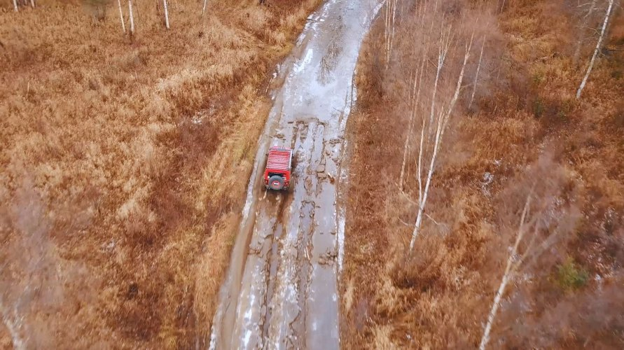 multimedia production company jeep offroading