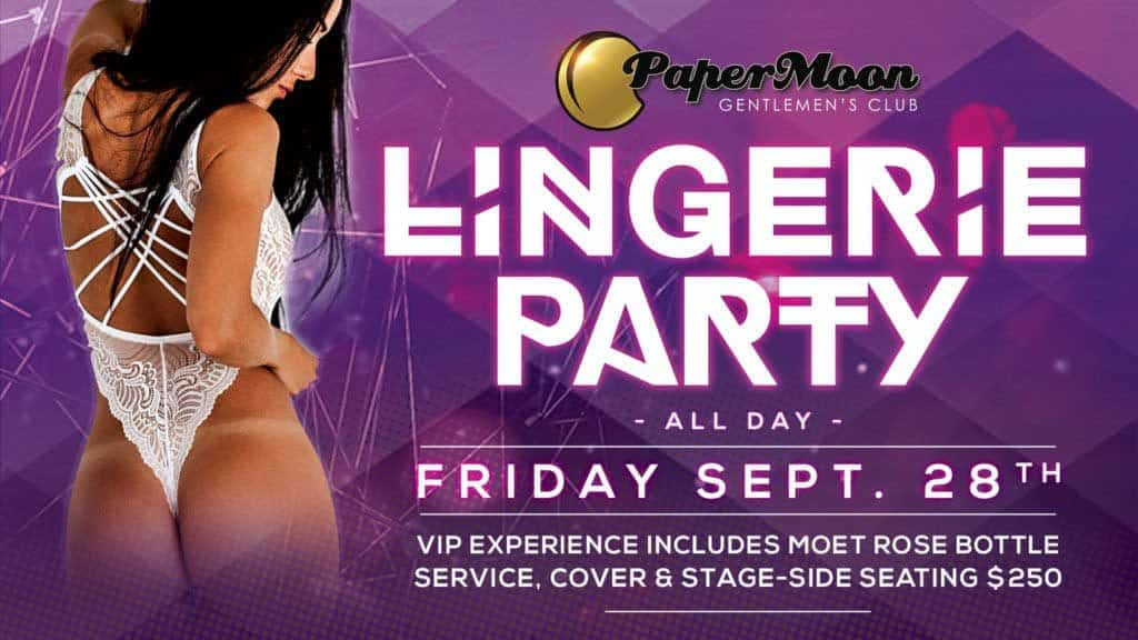 PaperMoon Gentlemens Club Lingerie Party