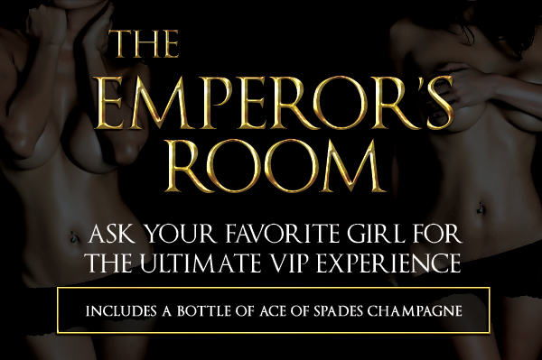 VIP Experience: Table-side bottle service serving wine, champagne, and premium liquor