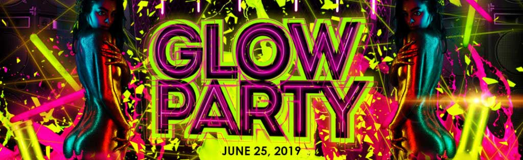 Glow in the Dark Party PaperMoon Gentlemen's Club