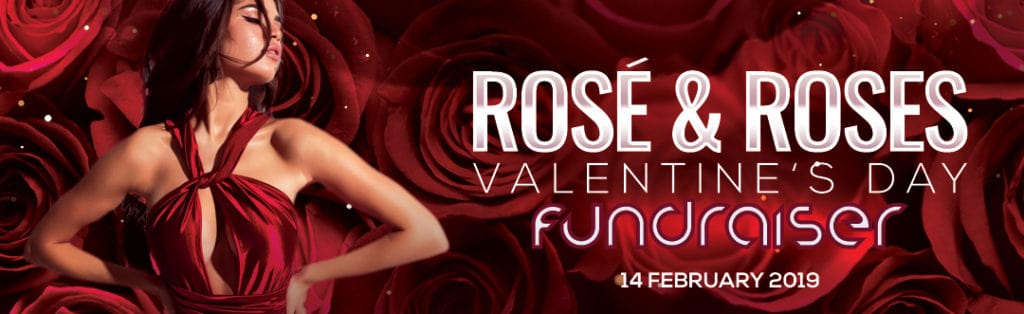 Valentine's Day Fundraiser with New Hope Housing Event Flyer PaperMoon Strip Club Washington DC