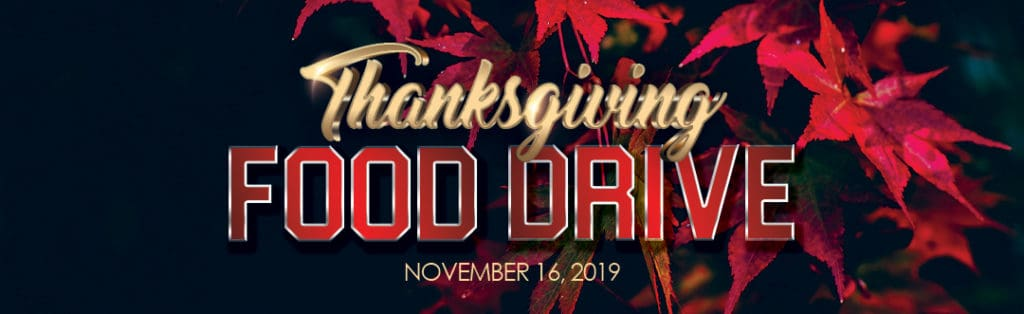 Thanksgiving Food Drive Party Event Promotion