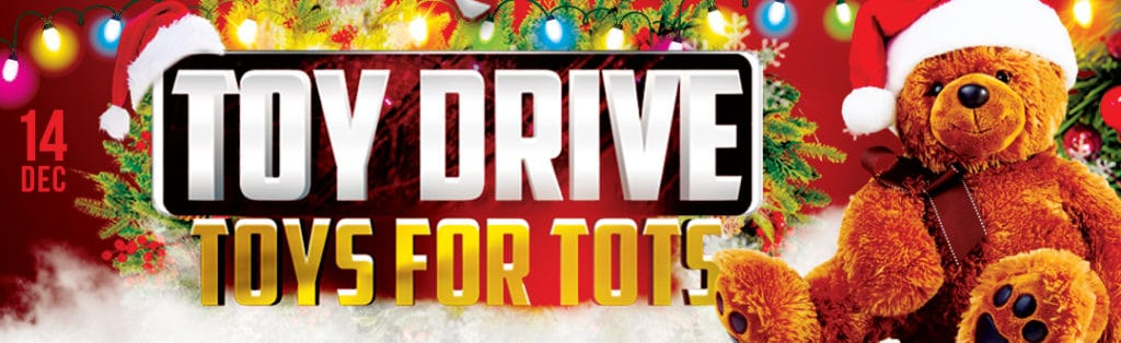 Toys for Tots Fundraiser Party