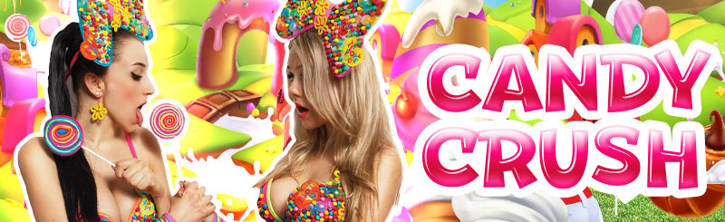 Candy Crush Party PaperMoon Strip Club