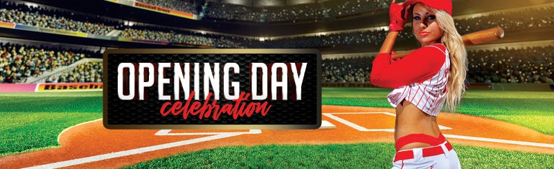 MLB Baseball Opening Day Celebration