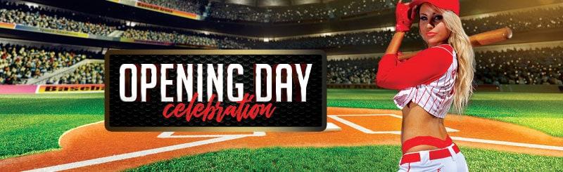 MLB Baseball Opening Day Celebration
