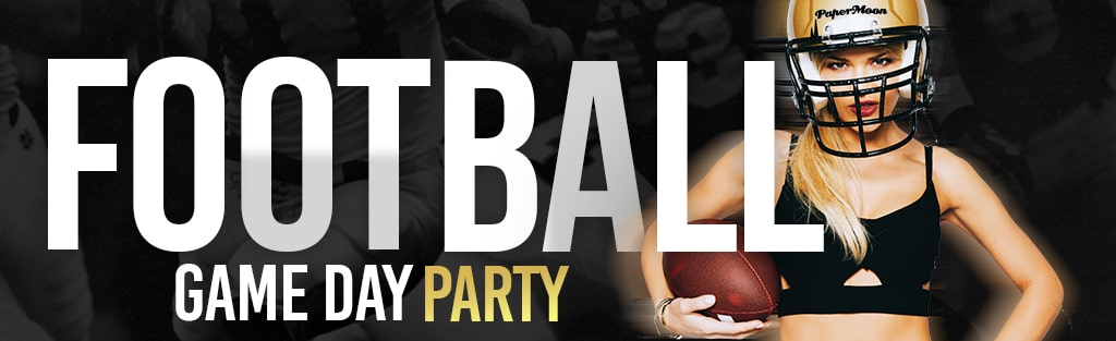 Football Watch Party PaperMoon Strip Club Virginia