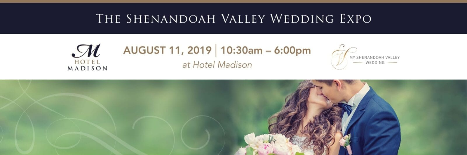 The Shenandoah Valley Wedding Expo August 11, 2019