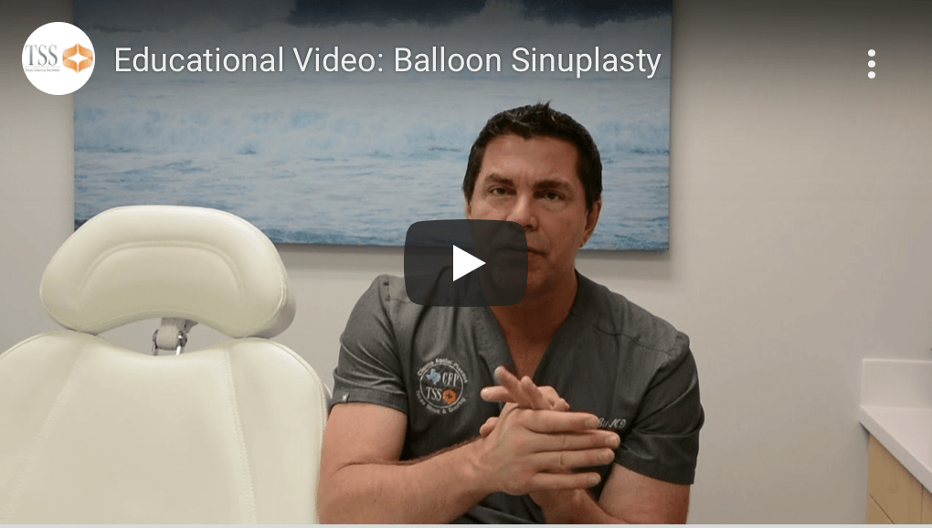 Balloon Sinuplasty Dr Cilento