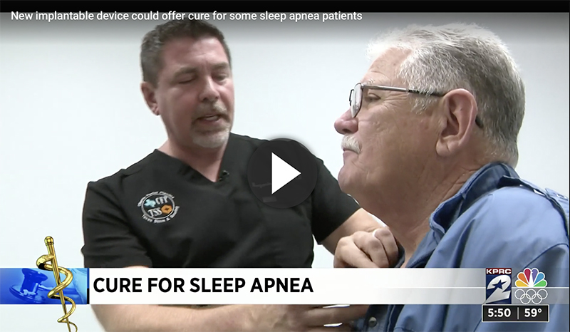 Texas Sinus and Snoring in the News - Inspire Sleep Therapy Channel 2