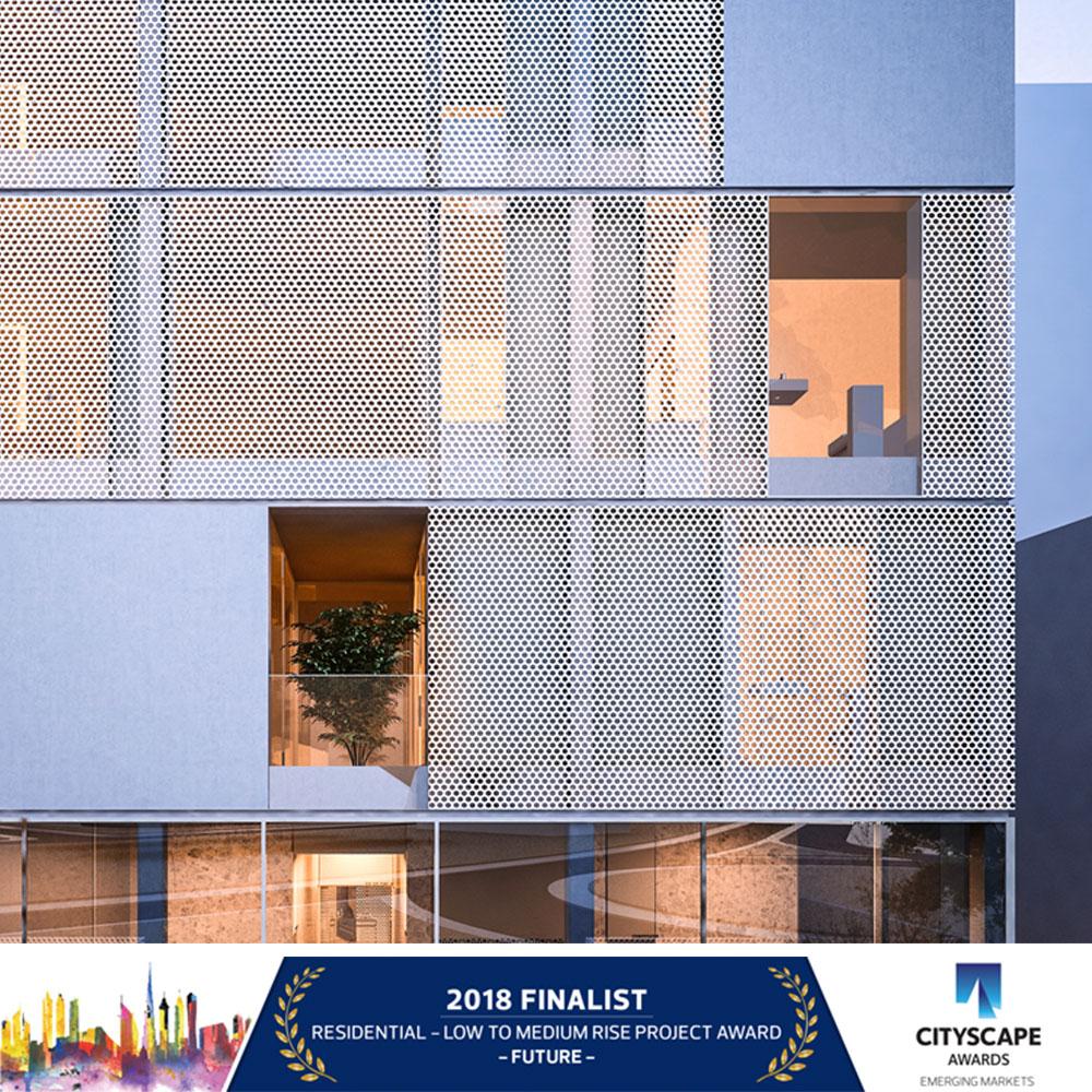 CITYSCAPE AWARDS 2018 FINALIST! JADE
