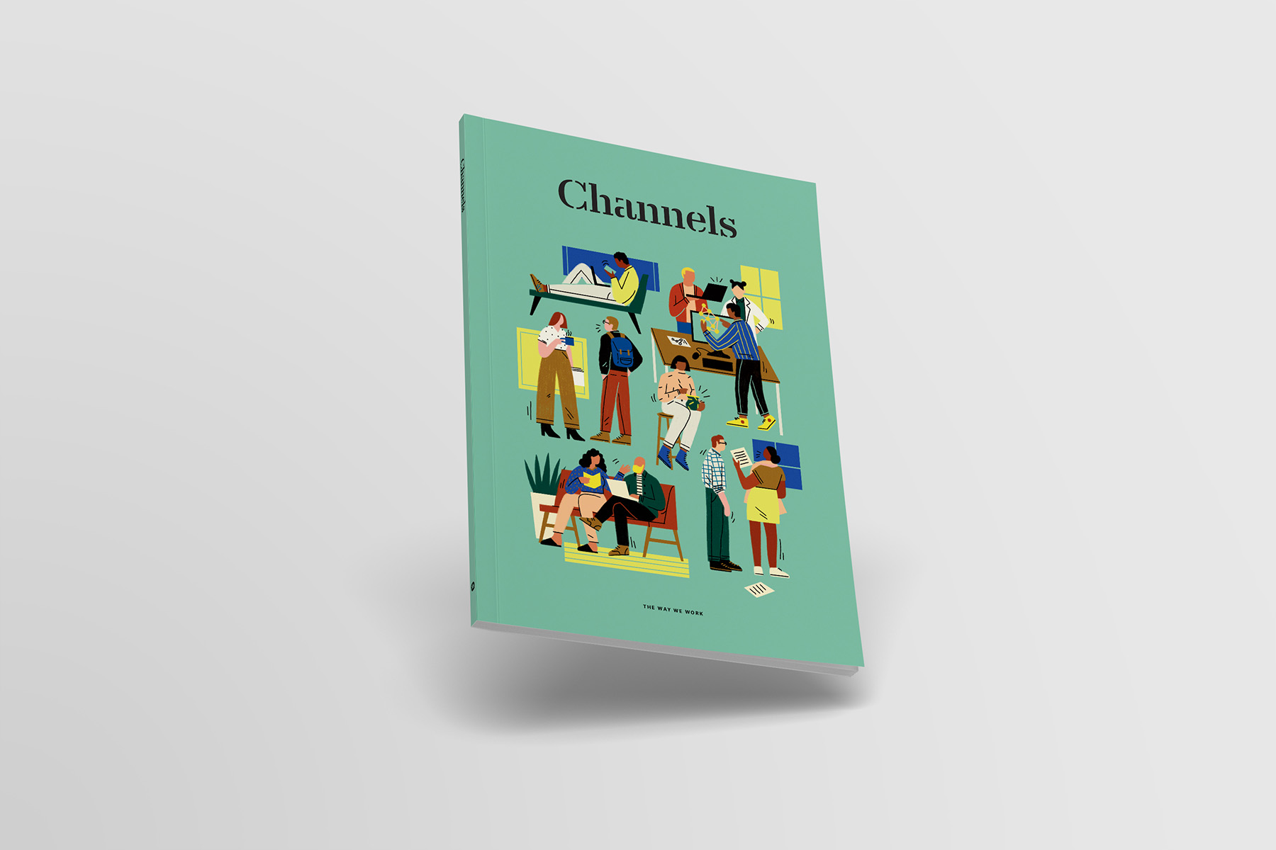 Slack+Channels+magazine+cover+design