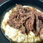 Beef Roast with Mashed Cauliflower