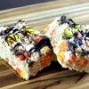 Candy Corn and M&M Rice Krispie Treats