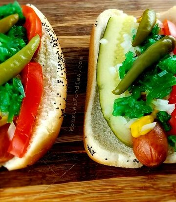 How To Make a Chicago-Style Hot Dog