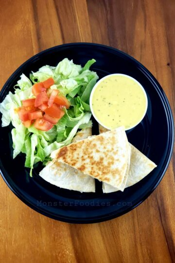 Honey Mustard Chicken Quesadillas