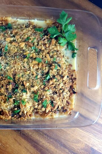 Pepper Jack Chicken and Stuffing Casserole