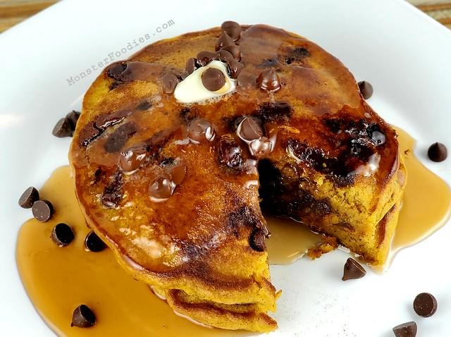Best Chocolate Chip Pancakes
