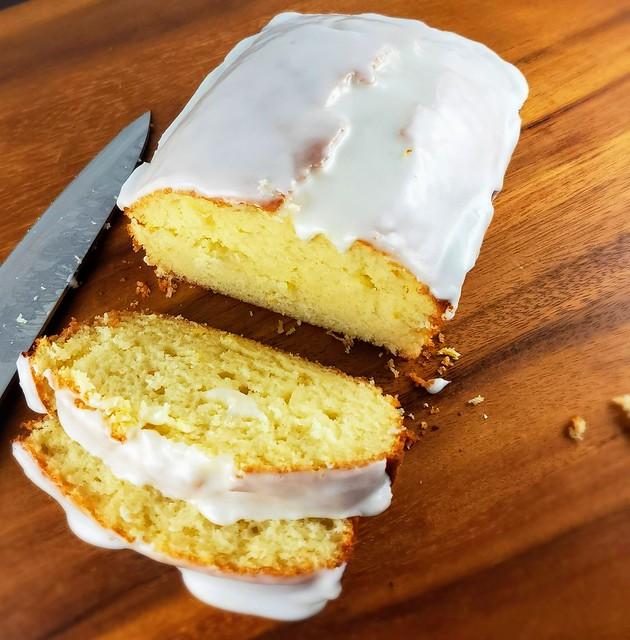 Starbucks Iced Lemon Pound Cake