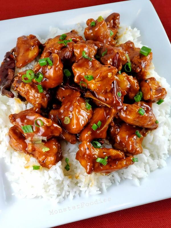 Homemade General Tso Chicken