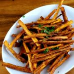 Deep Fried Sweet Potato Fries