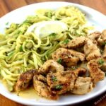 Zucchini Noodles with Chicken