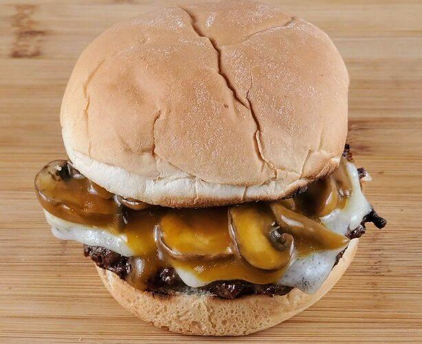 Dairy Queen Mushroom and Swiss Burger
