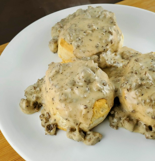 Denny's Biscuits and Gravy
