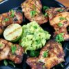 Grilled Cilantro Lime Chicken Thighs