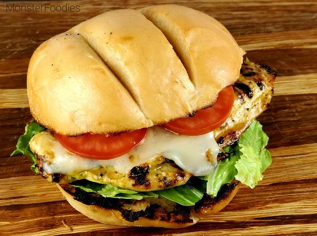 Mustard Ranch Grilled Chicken Sandwich