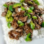 Chinese Beef in Black Pepper Sauce