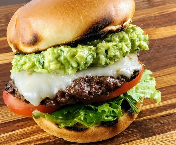 Avocado Beef Burger