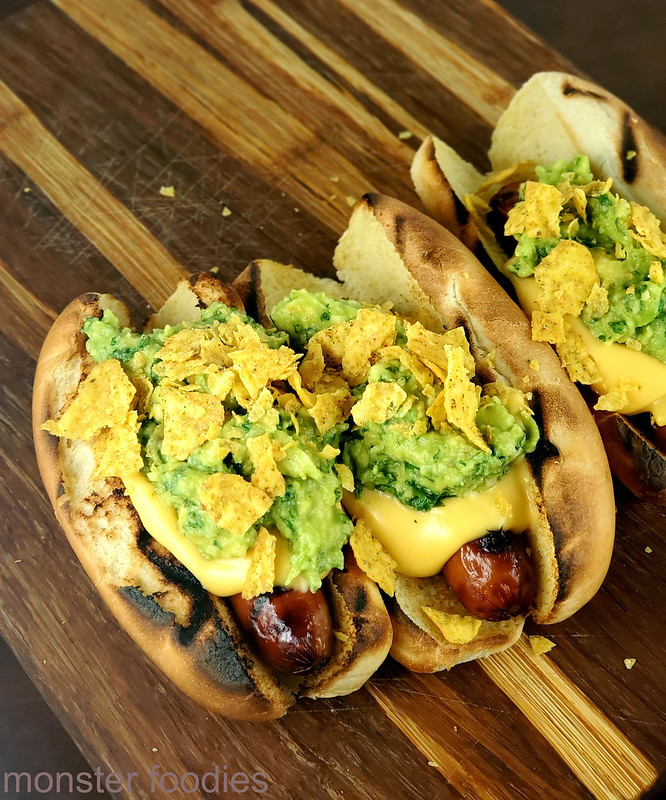 Nacho Cheese Hot Dogs