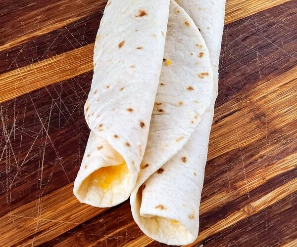 Taco Bell Cheesy Roll-Up