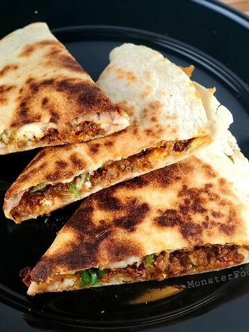 Chorizo and Cheese Quesadillas