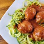 Turkey Meatballs with Zoodles