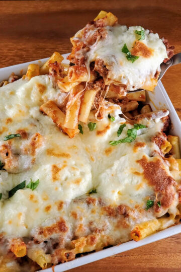 Simple Baked Ziti