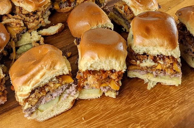 BBQ Burger Sliders