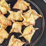 Air Fryer Cream Cheese Rangoons