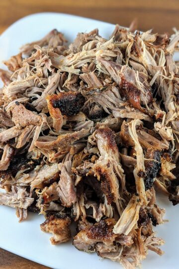 Slow Cooked Pulled Pork in Oven