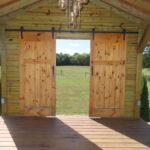 The chapel doors open or close.