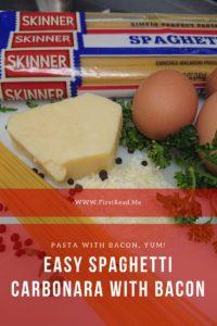 skinner pasta spaghetti carbonara