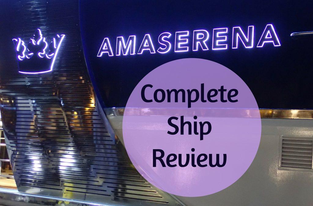 Cruise Review: AmaWaterways AmaSerena