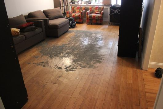 Sandless Hardwood Floor Refinishing