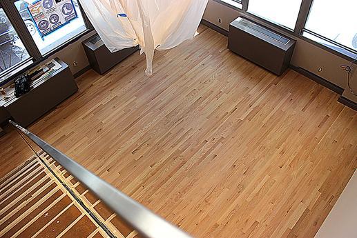 Dustless Hardwood Floor Refinishing