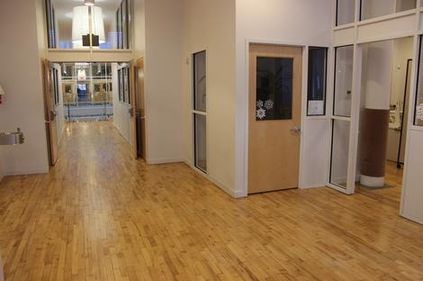 Office Hardwood Floor Refinishing