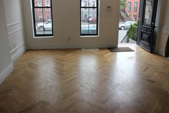 Sandless Wood Floor Refinishing