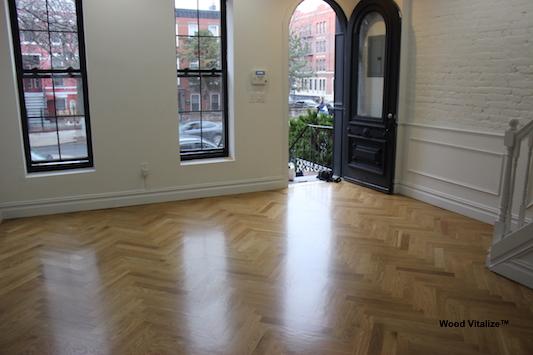Sandless Wood Floor Refinishing